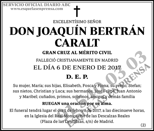 Joaquín Bertrán Caralt
